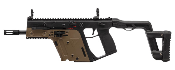 KRISS USA Licensed Kriss Vector Airsoft AEG SMG Rifle by Krytac (Model: Dual-Tone) - ssairsoft