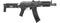 LCT ZKS-74UN AK AEG Rifle w/ Folding Stock (Black) - ssairsoft