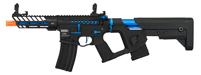 Lancer Tactical Enforcer NEEDLETAIL Blue/black Low FPS - ssairsoft