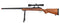 WELL VSR-10 BOLT ACTION RIFLE W/ SCOPE, SLING & BIPOD - WOOD