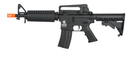 Lancer Tactical M933 Commando Gen 2 Low FPS AEG Airsoft Rifle - BLACK - ssairsoft