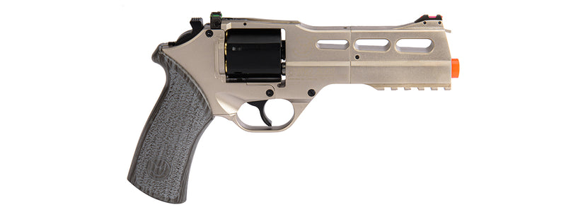 Limited Edition Airsoft Chiappa Rhino 50DS CO2 Revolver (Silver) - ssairsoft