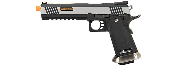 WE tech 2 tone gd/nomarking IREX Hi-capa GBB - ssairsoft