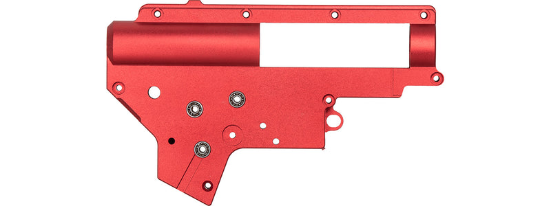 Lancer Tactical Gearbox Shell Set Version 2 QD CNC Aluminum 7075 ZC Leopard (M-162A) - ssairsoft