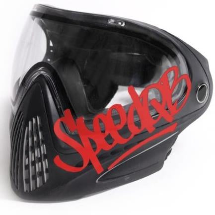 SPEEDQB HANDSTYLE DECAL – RED - ssairsoft