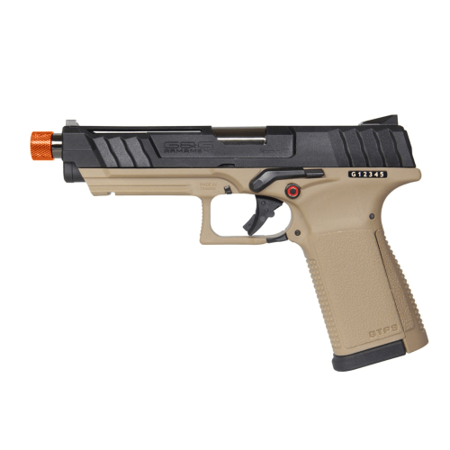 G&G Airsoft GTP 9 GBB Black/Tan - ssairsoft