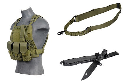 Body Gear Package Green - ssairsoft