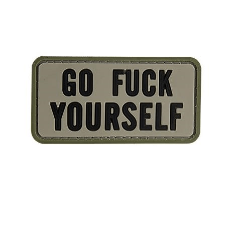 F*** YOURSELF PVC PATCH