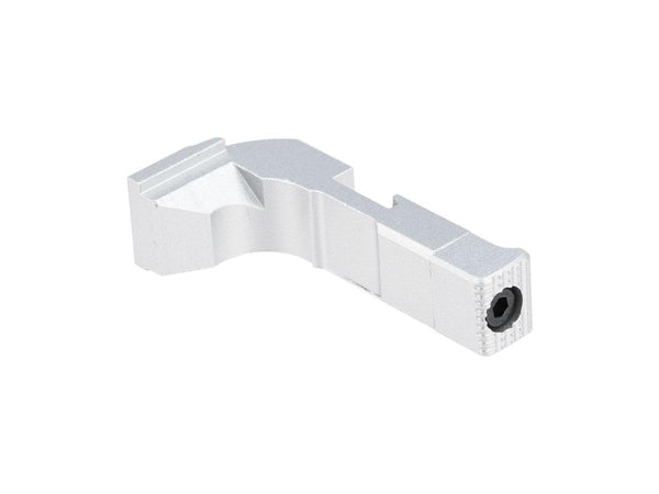 6mmProShop Extended Magazine Catch for Elite Force GLOCK Series Type A /Silver - ssairsoft
