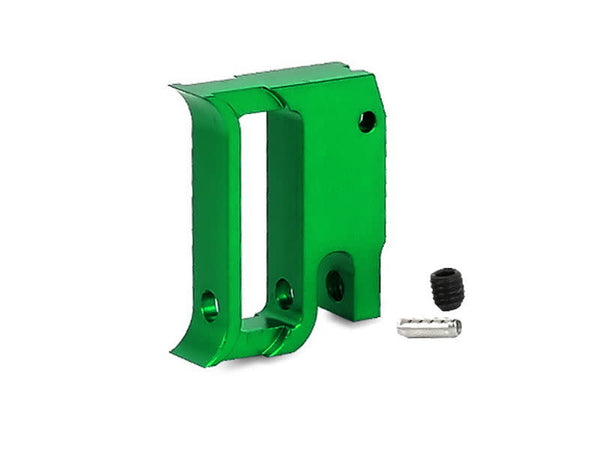 "Airsoft Masterpiece Edge ""T1"" Trigger for Hi-Capa/1911 Green - ssairsoft"