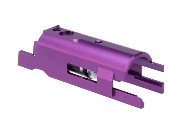Airsoft Masterpiece EDGE Aluminum Blow Back Housing for Hi-CAPA Gas Airsoft Pistols Purple - ssairsoft