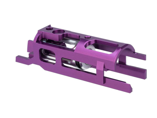 Airsoft Masterpiece EDGE Ultra Light Aluminum Blow Back Housing for Hi-CAPA Gas Airsoft Pistols Purple - ssairsoft