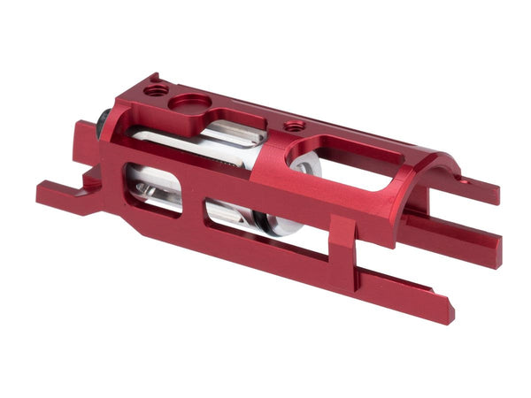 Airsoft Masterpiece EDGE Ultra Light Aluminum Blow Back Housing for Hi-CAPA Gas Airsoft Pistols Red - ssairsoft