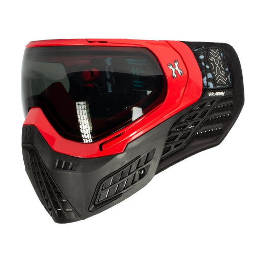 HK Army - KLR Goggle Blackout Red (Red/Black) - ssairsoft