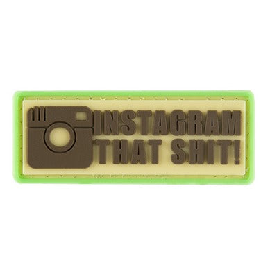 G-FORCE INSTAGRAM THAT SH*T PVC MORALE PATCH - ssairsoft