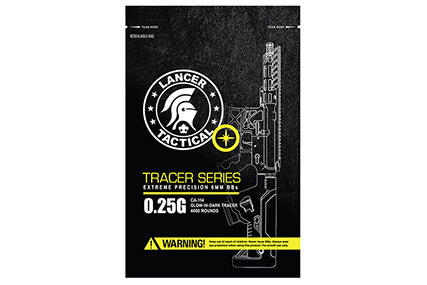 Lancer Tactical 6mm BBs .25 4000 Tracer - ssairsoft