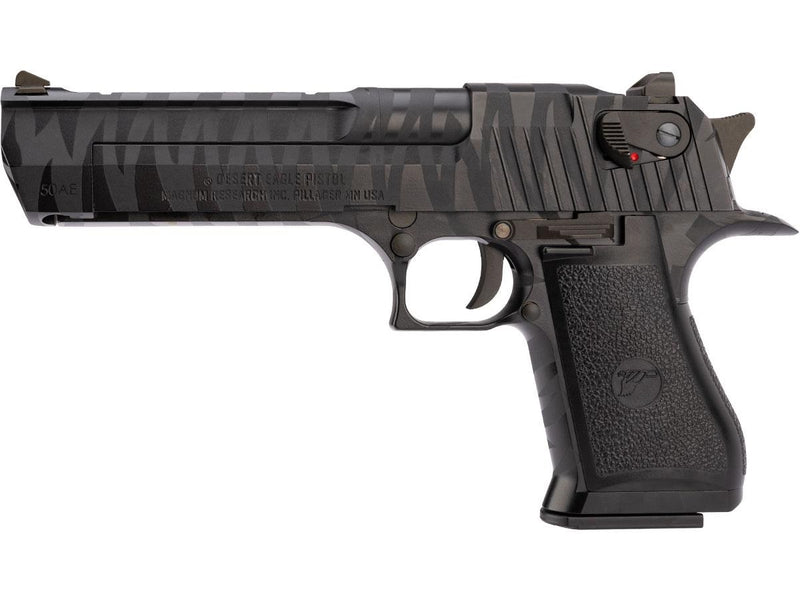 WE-Tech Desert Eagle AE Full Metal Gas Blowback  Black Tigerstripe - ssairsoft