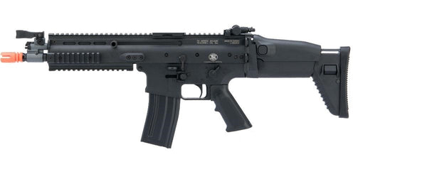 Cybergun FN Herstal Licensed Full Metal SCAR Light Airsoft AEG Rifle by VFC (Model: CQC / Black) - ssairsoft