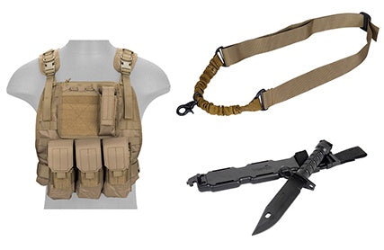 Body Gear Package Tan - ssairsoft