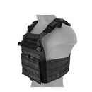 LANCER TACTICAL ASSAULT RECON PLATE CARRIER (BLACK) - ssairsoft