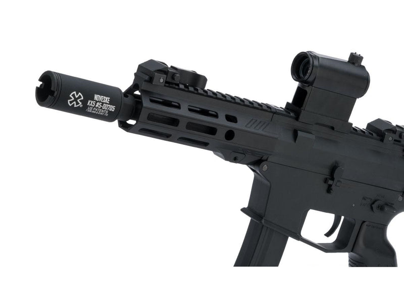 Noveske Flash Hider w/ Built-In ACETECH Lighter S Ultra Compact Rechargeable Tracer-KX3 Black - ssairsoft
