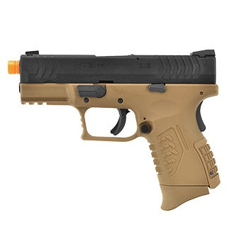WE-Tech X-Tactical 3.8 Compact Gas Blowback Airsoft Pistol (TAN) - ssairsoft