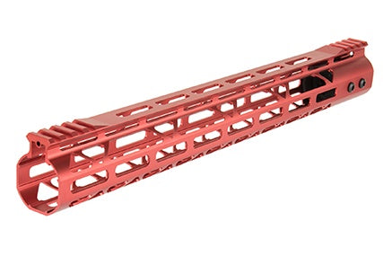 "RA 12"" MLock rail red - ssairsoft"
