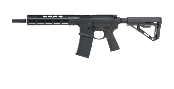 EMG NOVESKE Gen 4 w/ eSilverEdge SDU2.0 Gearbox Airsoft AEG Training Rifle (Model: Shorty / Black) - ssairsoft