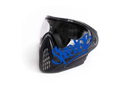 SpeedQB handstyle Decal blue - ssairsoft