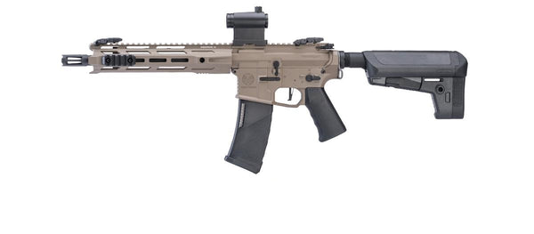 Krytac Full Metal Trident MKII CRB Airsoft AEG Rifle (Model: FDE) - ssairsoft
