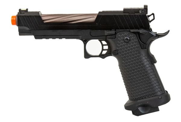 JAG Arms GMX-1 Series Gas Blow Back -black/Bronze Pistol - ssairsoft