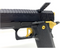 "Gold/Black Infinity TM 6"" with compensator Custom built Hi-Capa"