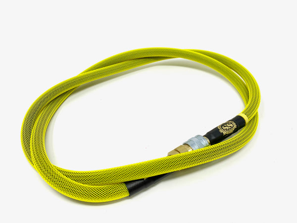 "SS Airsoft 42"" HPA Line Standard Weave - Neon Yellow"