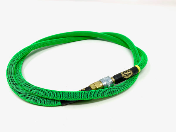 "SS Airsoft 42"" HPA Line Standard Weave - Neon Green"