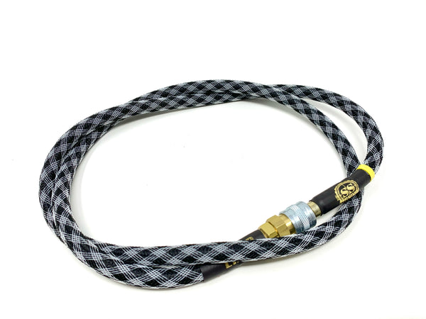 "SS Airsoft 42"" HPA Line Standard Weave - Checkered Flag"