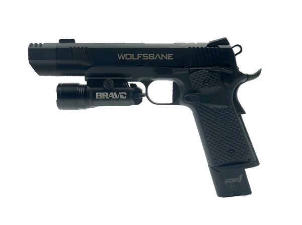 Echo1 Wolfsbane Pistol with Bravo STL800 Flashlight Combo