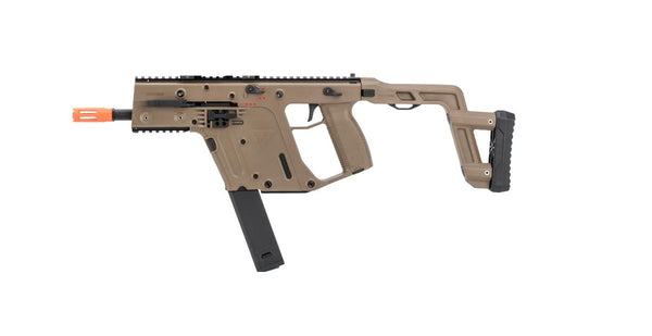 KRISS Licensed Kriss Vector Airsoft AEG by Krytac - FDE - ssairsoft