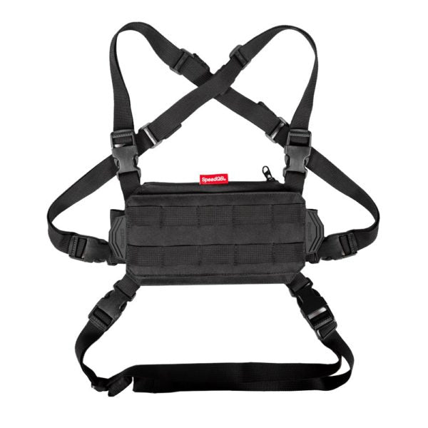 NCR Chest Rig BLACK - ssairsoft
