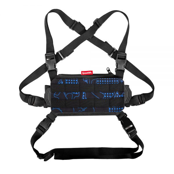 SPEEDQB NUCLEUS CHEST RIG (NCR) – BLUE GLITCH CAMO - ssairsoft