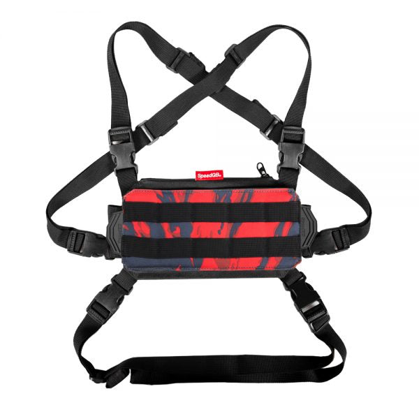 SPEEDQB NUCLEUS CHEST RIG (NCR) – RED TIGER - ssairsoft