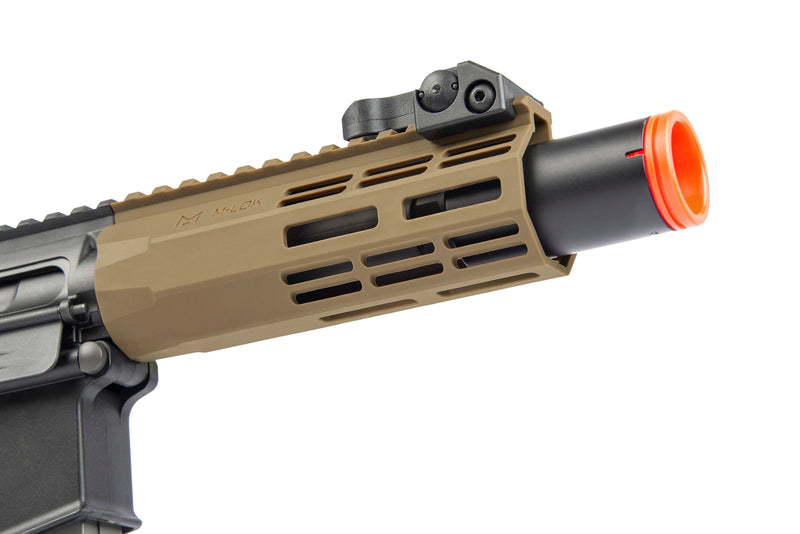Elite Force M4 CQC Black/FDE - ssairsoft