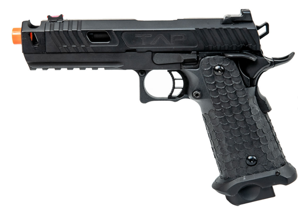 Echo1 TAP Gas Blow  Airsoft Pistol Black - ssairsoft