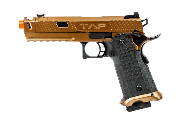 Echo 1 TAP Gas Blowback Airsoft Pistol (Bronze) - ssairsoft