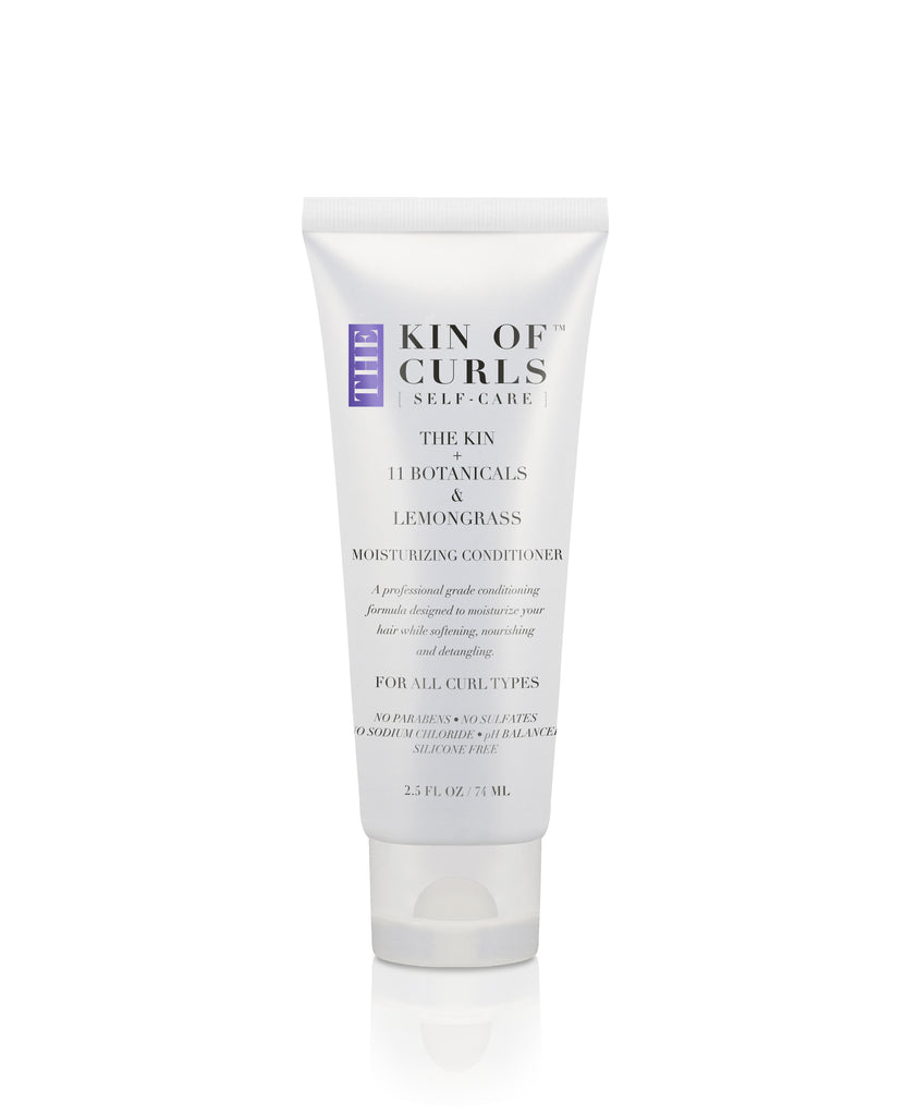 THE KIN + 11 BOTANICALS & LEMONGRASS MOISTURIZING CONDITIONER (TRAVEL SIZE)