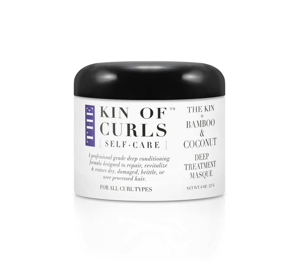 THE KIN + BAMBOO & COCONUT DEEP TREATMENT MASQUE