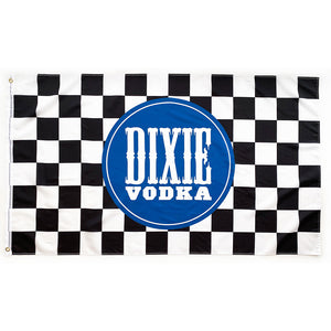 Officially Licensed NASCAR x Dixie Vodka Checkered Flag