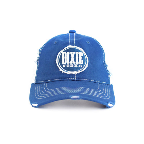 Officially Licensed NASCAR x Dixie Vodka Distressed Trucker Hat