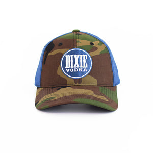 Officially Licensed NASCAR x Dixie Vodka Camo Hat