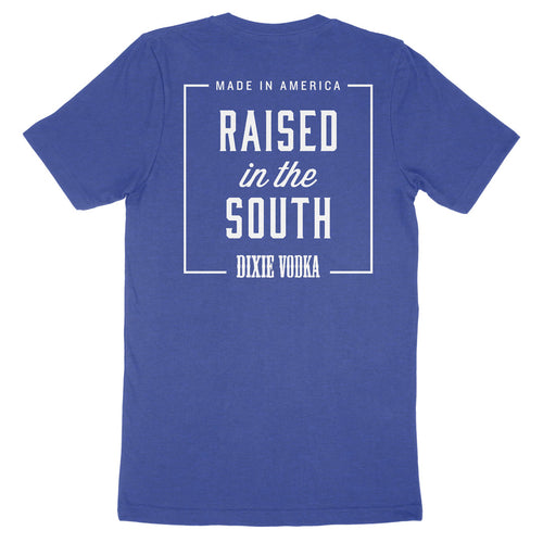 Made in America. Raised in the South. — Unisex T-Shirt