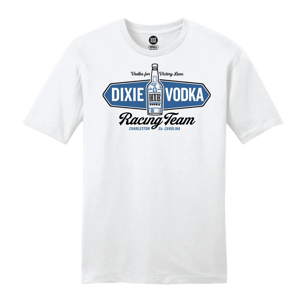 Dixie Vodka Racing Team White T-shirt